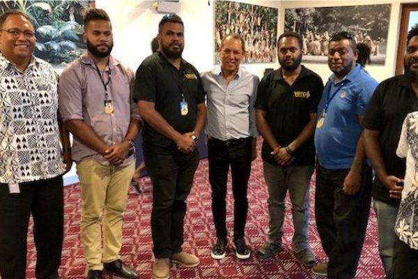 Accord de partenariat entre Nouvelle Calédonie la 1ère et la TV  Vanuataise