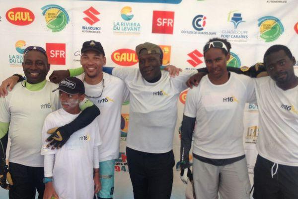 L'équipage  IM 16 vainqueur de la 5ème étape du TGVT