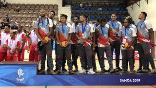 Samoa 2019, les volleyeurs en bronze