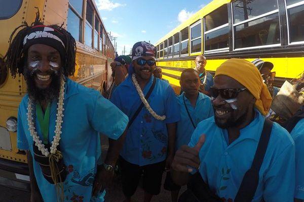 La délégation de Nouvelle-Calédonie