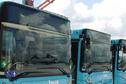 Les bus de la RCT à l'arrêt... les salariés sont en grève à l'appel de l'UTG pour une meilleure réévaluation des salaires
