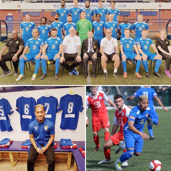 Mickaël vient d'intégrer un tout nouveau club, le Sutton Coldfield Town FC