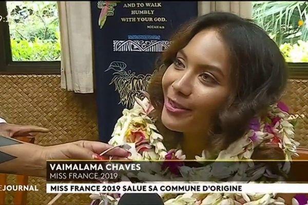 Miss France en visite sur ses terres