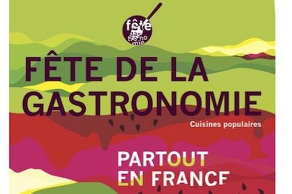 Affiche fête gastronomie