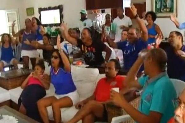 France Nigéria en Martinique
