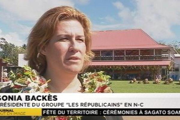 Sonia Backes présidente de LRC à la fête du territoire