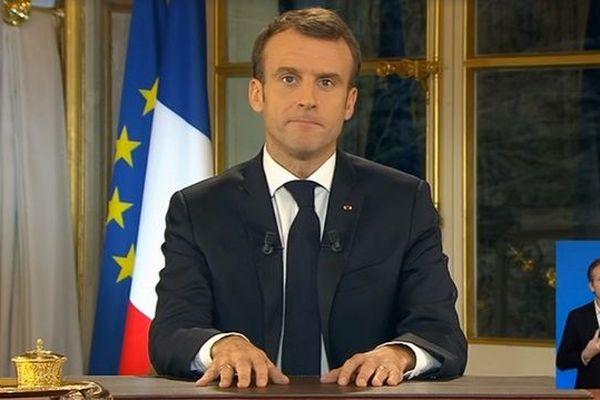 Allocution solennelle d'Emmanuel Macron
