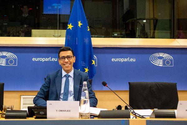 Younous Omarjee au parlement européen