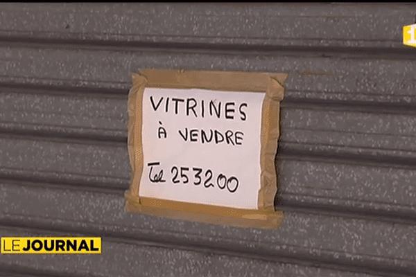 Centre ville : commerces en crise