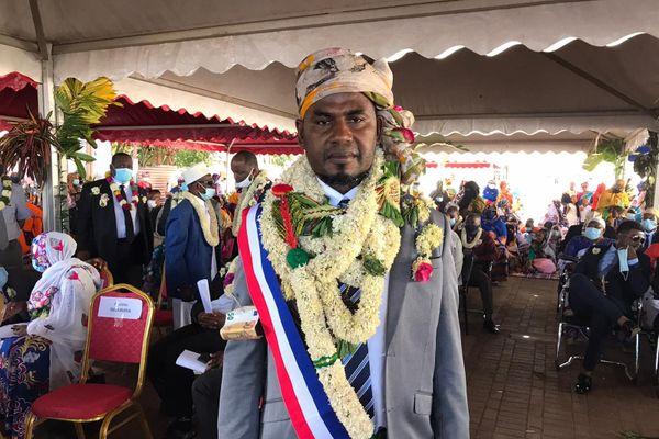 Laïthidine Ben Saïd, nouveau maire de Mtsamboro