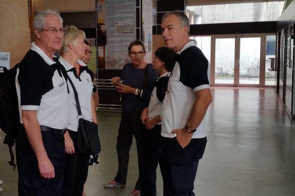 La Mission de l'EPRUS à pied d'oeuvre en Guadeloupe