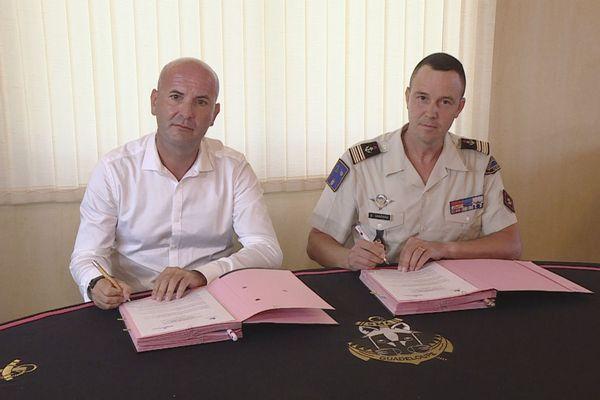Signature convention Pôle Emploi RSMA