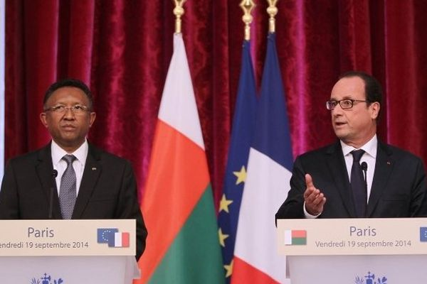 Point presse franco-malgache - Elysée - 19 septembre 2014