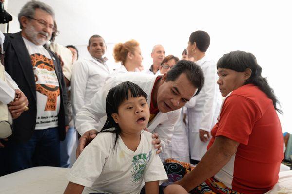 Médecins cubains en 2013 au Brésil