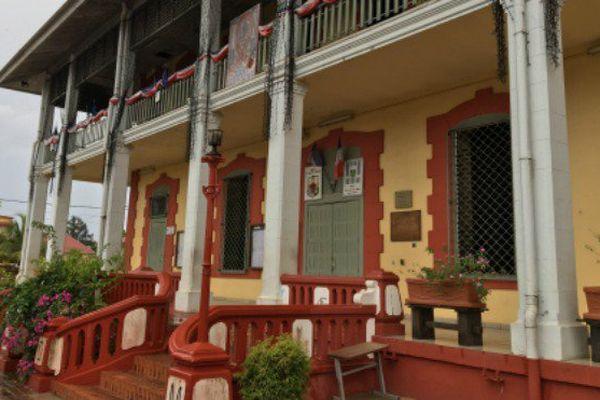 Mairie de Saint-Laurent du Maroni, Guyane.