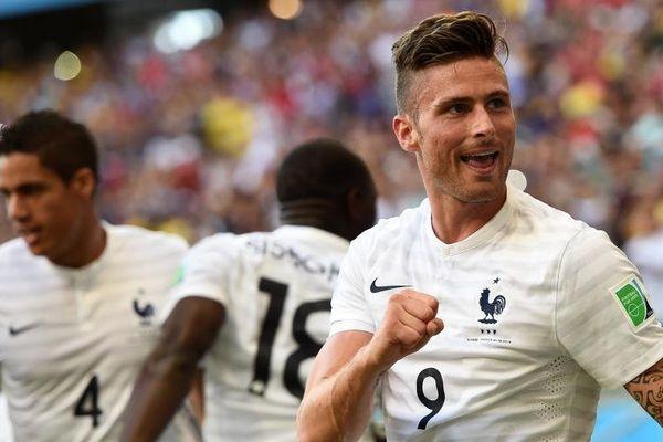 Olivier Giroud coupe du monde 2014 France Suisse