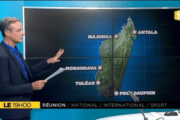 Le+, Madagascar et les cyclones
