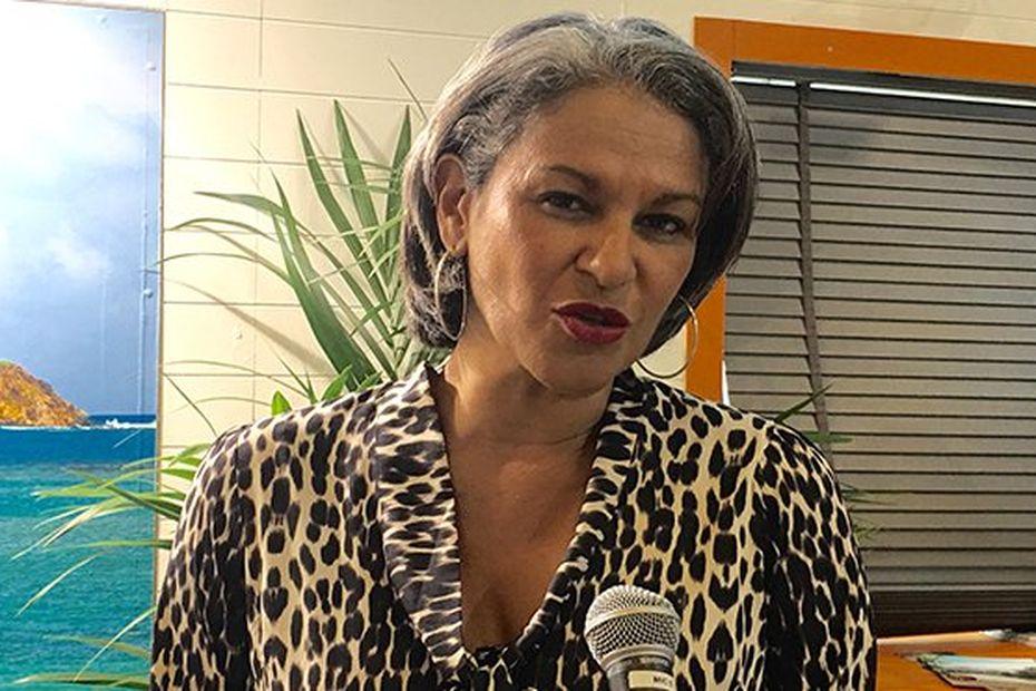 """L'élue Karine Mousseau appelle au dialogue après l'incendie """"d'origine criminelle"""" du hangar bananier du François - Martinique la 1ère"""