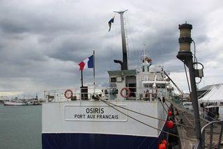 Patrouilleur Osiris à Port-Louis