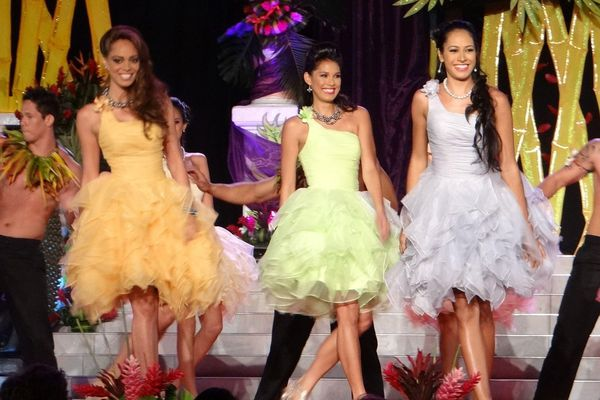 Election Miss Tahiti 2013