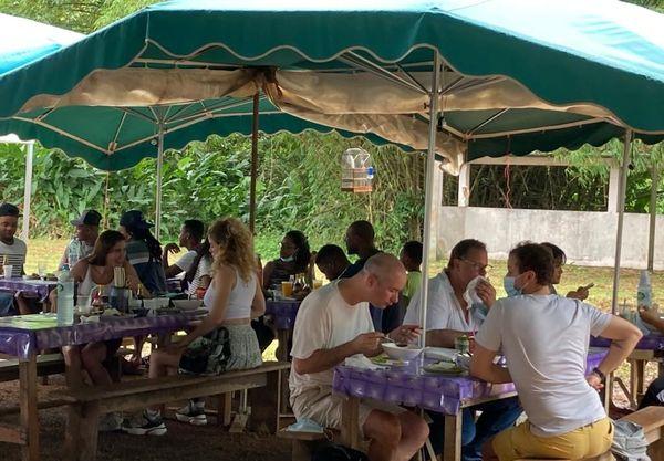 réouverture de la restauration au marché de Cacao
