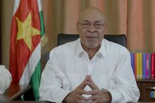 Le président Bouterse