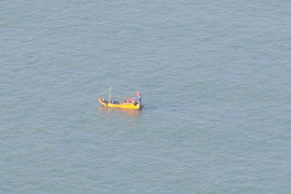 Navire brésilien arraisonnée
