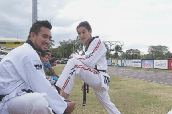5 tahitiens au Asian Games