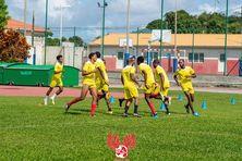 Le Rc Saint-Joseph à l'entraînement.