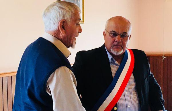 Election de Patrick Robelin, maire de Bourail, 15 juin 2018