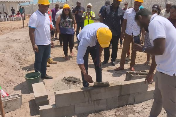 Iracoubo : le chantier de la déchetterie a débuté