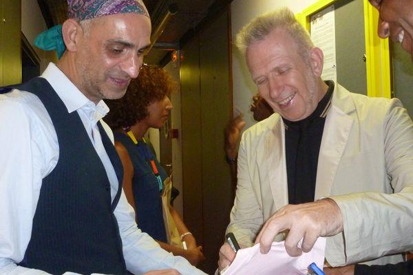 Jean-Paul Gaultier en dédicace