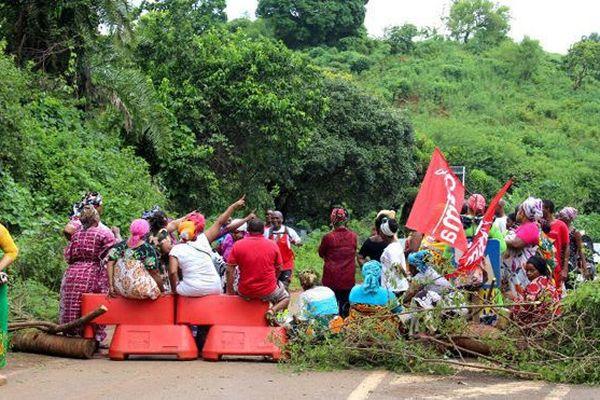 Un barrage à Mayotte