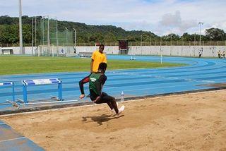 Harrisson Innocent au championnat de Guyane 2017