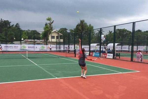 Mini Jeux Pacifique Tennis