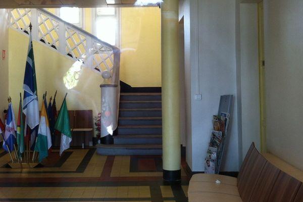 hall d'accueil mairie du lamentin