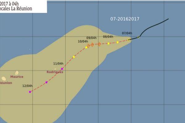 20170307 Dépression Tropicale