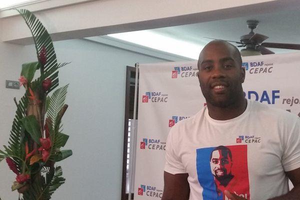 Teddy Riner: la Guadeloupe chevillée au corps