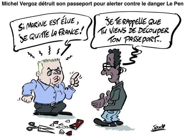 Dessin Souch : Vergoz passeport