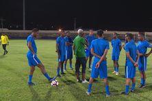 Les joueurs de la sélection de Martinique.