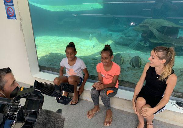 L'APS à l'Aquarium