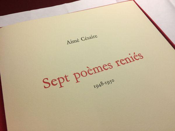 poèmes reniés