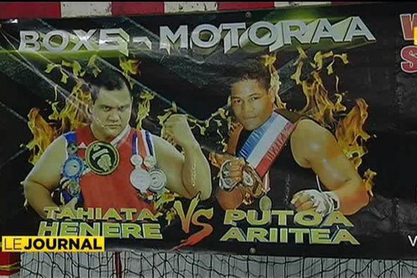 Boxe : Tahiata vs Putoa