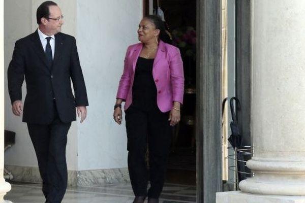 Hollande et Taubira