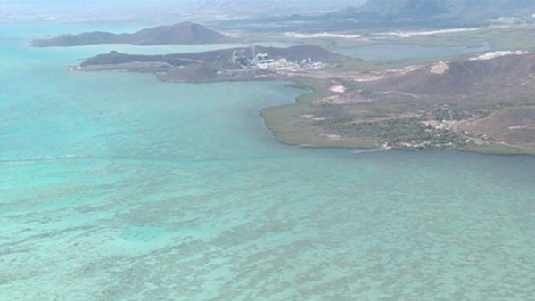 Capture vue aérienne KNS / Oundjo à l'occasion du crash de l'ULM (14 novembre 2017)