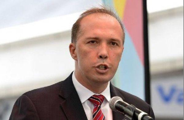 Le ministre australien de l'Immigration, Peter Dutton.
