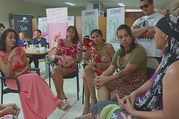 Octobre rose Miss Tahiti