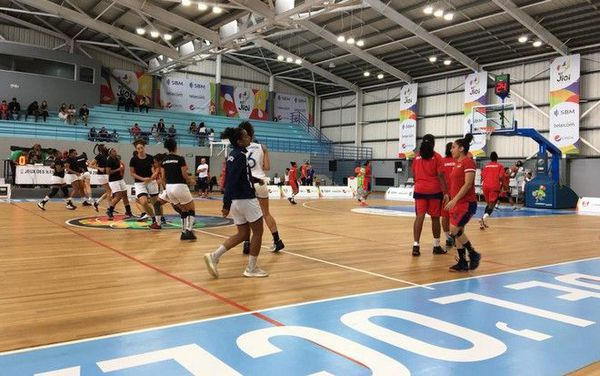 JIOI 2019 basket ball demi-finale reunion maurice 260719
