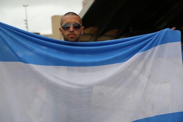 Le débarquement argentin