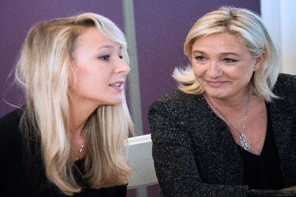 Marine Le Pen et Marion Maréchal Le Pen